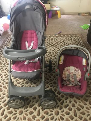 Graco infant car seat and stroller for Sale in Pittsburgh, PA