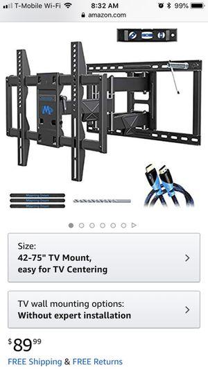 TV Mount (FULL MOTION) for Sale in Nashville, TN