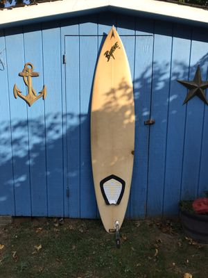 BYRNE Surfboard 7 ft 6 inches good condition has a couple repairs water tight for Sale in Forked River, NJ