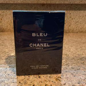 Bleu De Chanel Eau De Perfum 3.4 Oz for Sale in San Bernardino, CA