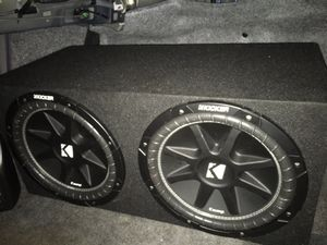 Kicker speakers for Sale in Portland, OR
