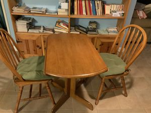 Kitchen table with two chairs. for Sale in Fairview Park, OH