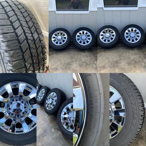 2018 20 in Denali 2500 wheels (comes with lugnuts for Sale in Jacksonville, FL