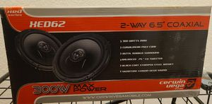 "Cerwin-Vega XED62 300W 6.5"" XED Series 2-Way Coaxial Car Speakers for Sale in Corona, CA"