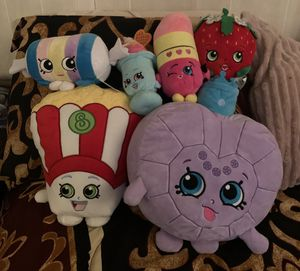 Shopkins plushies for Sale in Richardson, TX