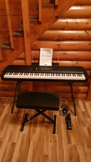 Korg SP-280 Digital Piano with Stand for Sale in Manistee, MI