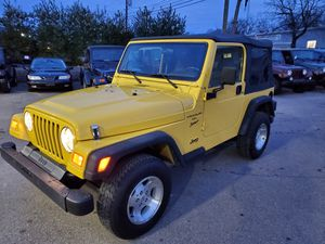 2001 Jeep Wrangler Sport for Sale in Ashland, MA