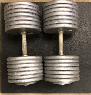 145 lbs pro-style dumbbells for Sale in Pittsburgh, PA