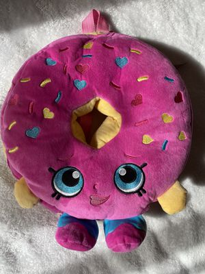 Large donut shopkin backpack for Sale in Escondido, CA