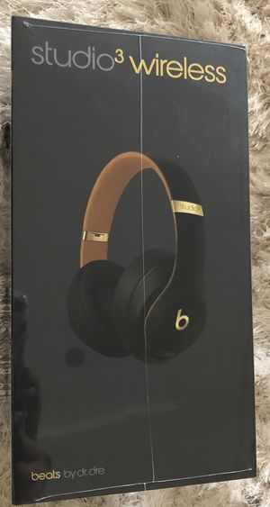 Beats studio 3 wireless headphones brand new in a sealed box for $250 ( original price $350) for Sale in Cooper City, FL