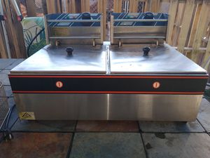Electric commercial grade double deep fryer for Sale in Goodyear, AZ