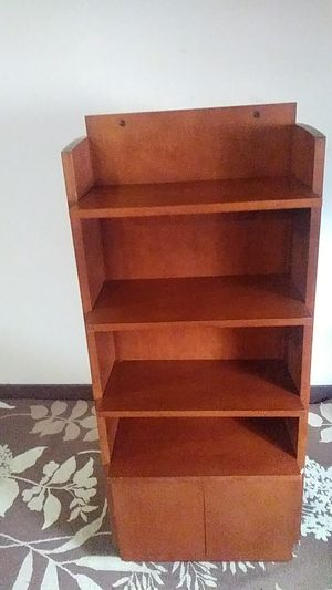 Store standing shelf -Solid wood for Sale in Lilburn, GA