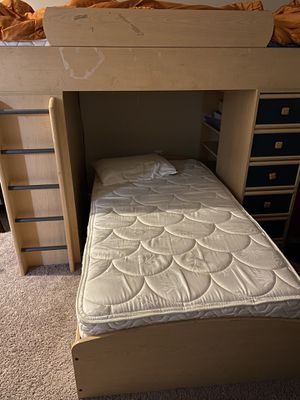 Bunk bed with desk on side. Great for remote learning Free Free Free for Sale in Jackson Township, NJ