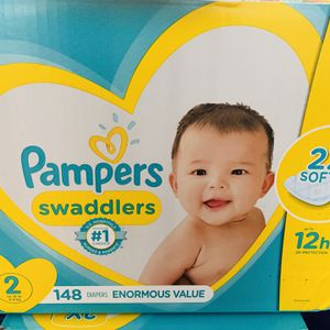 Pampers Size 2 for Sale in Norco, CA