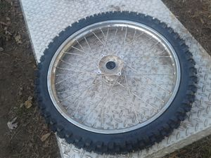 Dirt bike tire and rim for Baja 125-250 for Sale in Dundalk, MD