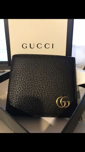 New Gucci Black Marmont Leather Men's Wallet for Sale in Queens, NY