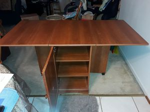 Folding Cabinet/ Table for Sale in Baltimore, MD