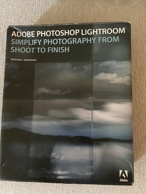 Adobe photoshop Lightroom for Sale in Murrieta, CA