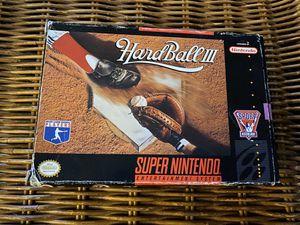 Hardball 3 (SNES) for Sale in Las Vegas, NV