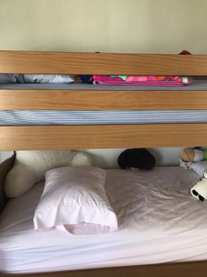 Twin wood bunk bed frames for Sale in Old Lyme, CT