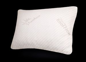 Snuggle-Pedic Ultra-Luxury Bamboo Shredded Memory Foam Pillow Combination With Removable Kool-Flow Breathable Cooling Hypoallergenic (Standard) for Sale in Las Vegas, NV