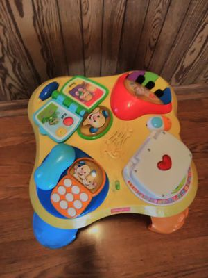 Fisher Price Activity Table for Sale in Barrington, IL