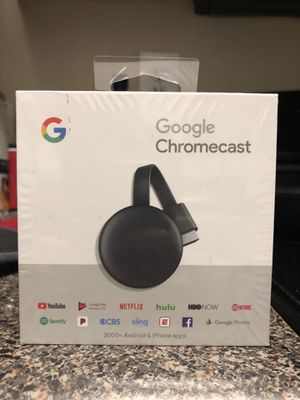 Brand new Google Chromecast 3rd gen for Sale in Greenville, SC