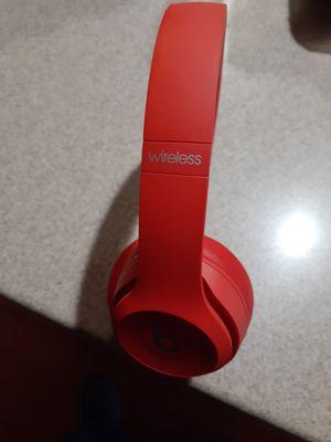 BEATS SOLO 3 WIRELESS RED originales for Sale in Stockton, CA