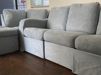 Grey-Blue Pull Apart Couches for Sale in San Diego,  CA
