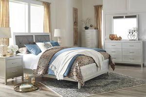 Oliiivet Silver Panel Bedroom Set for Sale in Arlington, VA
