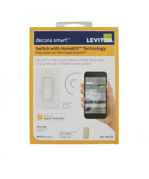 Leviton 15 Amp Decora Smart Switch with HomeKit for Sale in Madera, CA