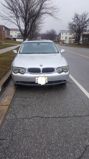 2002 745li BMW for Sale in District Heights, MD