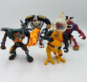 1994 Earthworm Jim Playmates Figures Lot for Sale in Bethesda, MD