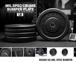 Rogue Fitness MIL Crumb Plates for Sale in Plainfield, IL