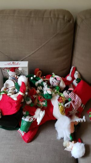 Bag of Christmas ornaments for Sale in West Haven, CT
