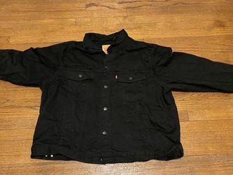 Levis Black Denim Jacket Big & Tall 4XL for Sale in Chicago,  IL