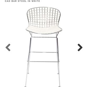 LexMod CAD White Bar Stool for Sale in NJ, US