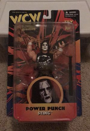 Collectible Wrestling Power Punch Sting Figure for Sale in Long Beach, CA