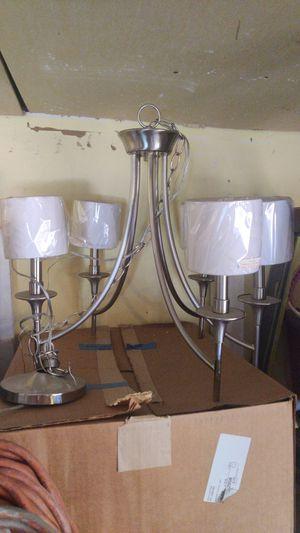 Seagull Lighting 5 light chandelier for Sale in San Jose, CA