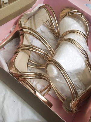 Rose Gold high heels for Sale in Pinetop, AZ