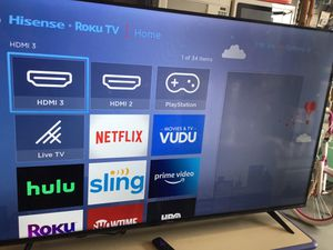 Hinsense 58 Smart 4K. ROKU TV. ITS NEW OUT THE BOX for Sale in Los Angeles, CA