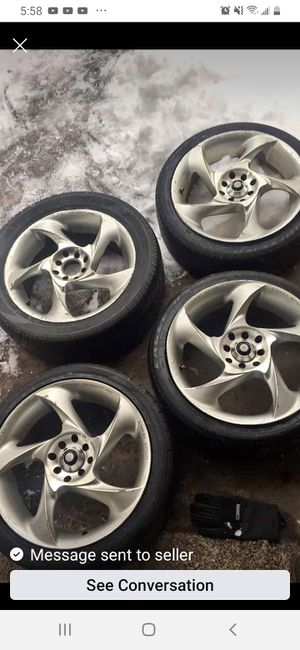 17inch rims $250 or accept trade 4/100 for Sale in Elkhart, IN
