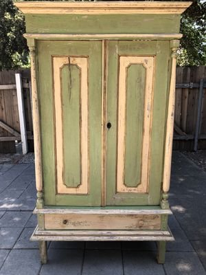 Vintage Antique Armoire, Shabby Chic for Sale in Pasadena, CA