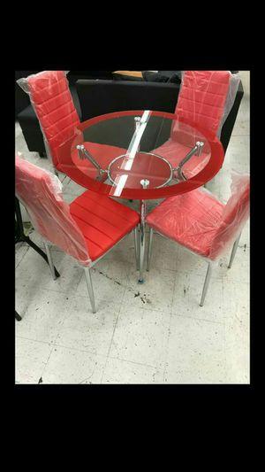 Dining 4 chairs (black and white) for Sale in Miami, FL
