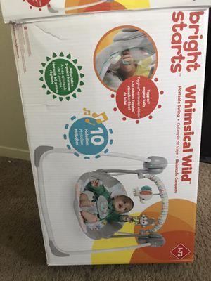 Baby swing barely used for Sale in Salt Lake City, UT