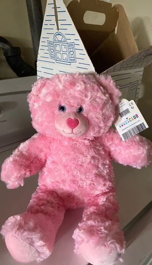 New build the bear teddy bear for Sale in Riverside, CA