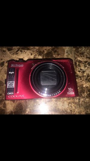 Nikon digital camera good condition lost charger for Sale in Everett, MA