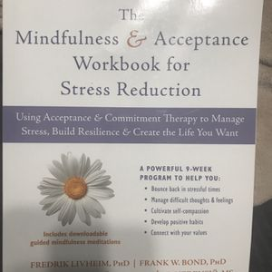 NEW! 📔The Mindfulness & Acceptance For Stress Reduction for Sale in Hacienda Heights, CA