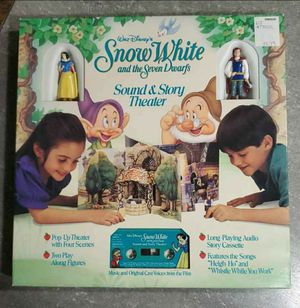 Disney Snow White and the Seven Dwarfs Sound and Story Theater for Sale in Las Vegas, NV