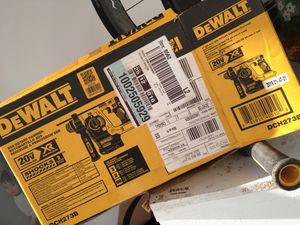 DeWalt XR 20 volt Brushless Cordless Hammer Drill Bare Tool only for Sale in Renton, WA